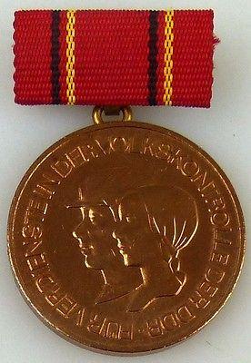 Medaille für Verdienste in der Volkskontrolle der DDR 1985-1987 (AH249c)