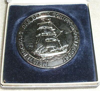 DDR Medaille Meisterschaft der DDR im Schiffsmodellsport  in OVP (da3308)