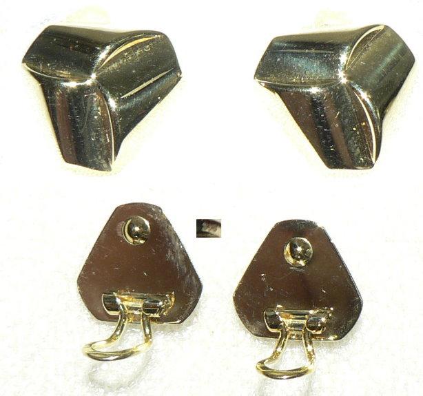 Neuwertige Ohrringe aus 333 Gold