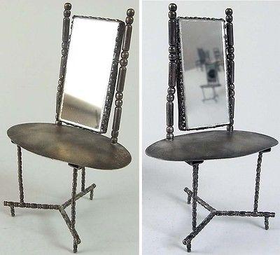 seltener puppenspielzeug spiegeltisch 925 er silber nr 360677708725 oldthing sonstige. Black Bedroom Furniture Sets. Home Design Ideas