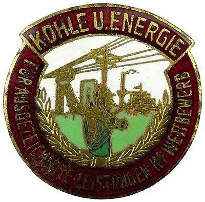Medaille ausgezeichnete Leistungen im Wettbewerb Kohle und Energie (AH127-08)
