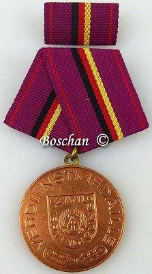 Verdienstmedaille der Zivilverteidigung der DDR in Bronze 1976-1985 (AH232b)