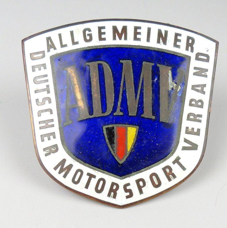 Plakette ADMV DDR Sternfahrt nach Dessau Motorbootrennen  1959  (da4946)