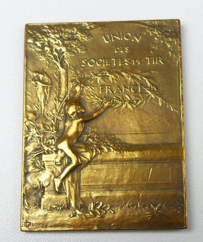 Medaille UNION DES SOCIETES DE TIR FRANCE  (da5106)