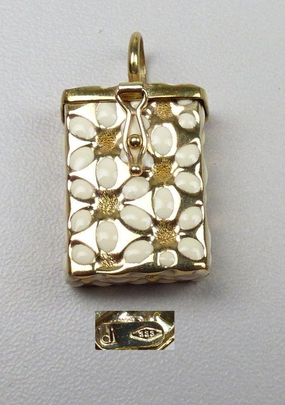 Anhänger aus 585er Gold Opal  (da5094)