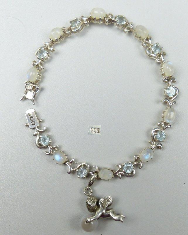 Set Kette und Armband aus 925er Silber   (da5079)
