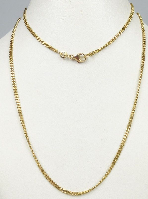 Kette aus 333er Gold  50 cm      (da5036)