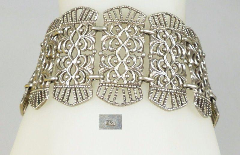 Armband aus 835er Silber        (da5011)