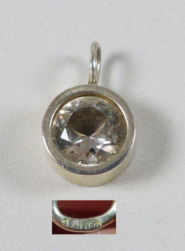 Anhänger aus 925er Silber mit Bergkristall  (da5000)
