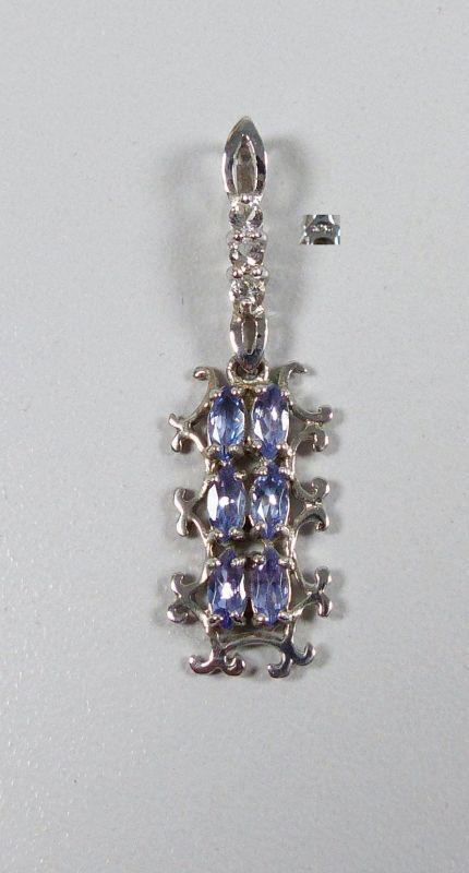 Anhänger aus 925er Silber mit Aquamarine (da5223)