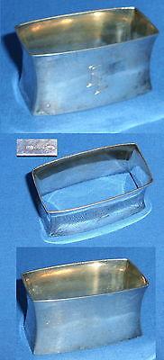 Serviettenring aus 800er Silber mit Monogramm EE (da4120)