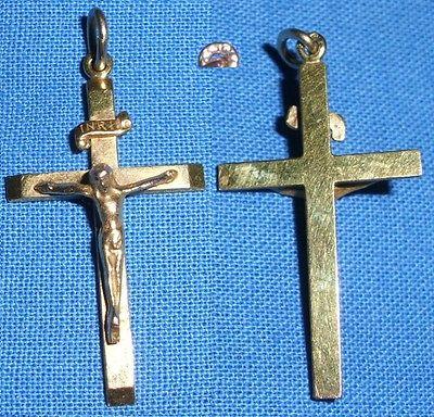 Anhänger Kreuz 333 Gold