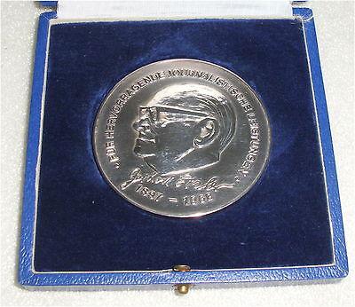 DDR Gerhard Eisler Medaille in OVP (da3400)