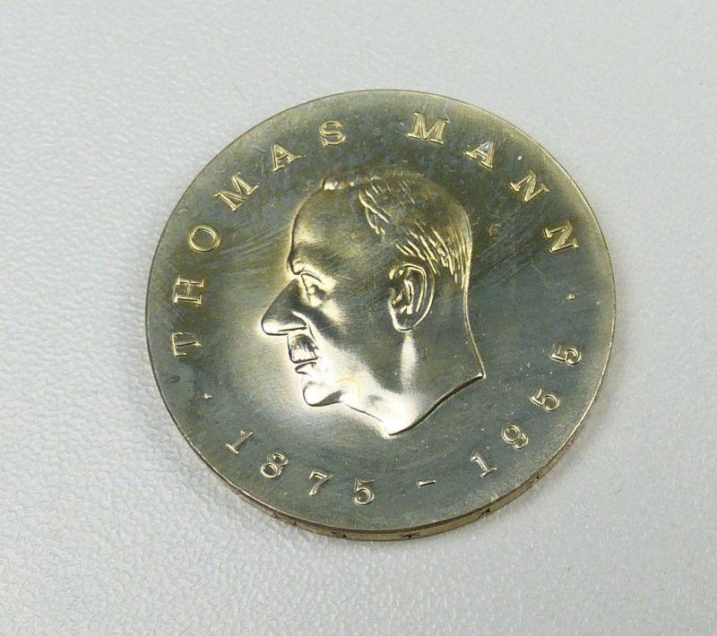 DDR Gedenkmünze 5 Mark 1975 zum 100. Geburtstag von Thomas Mann     (da4732) 1