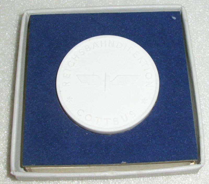 Medaille Reichsbahndirektion Cottbus Für ausgezeichnete Leistungen  (da3944) 0