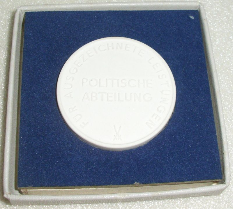 Medaille Reichsbahndirektion Cottbus Für ausgezeichnete Leistungen  (da3944) 1
