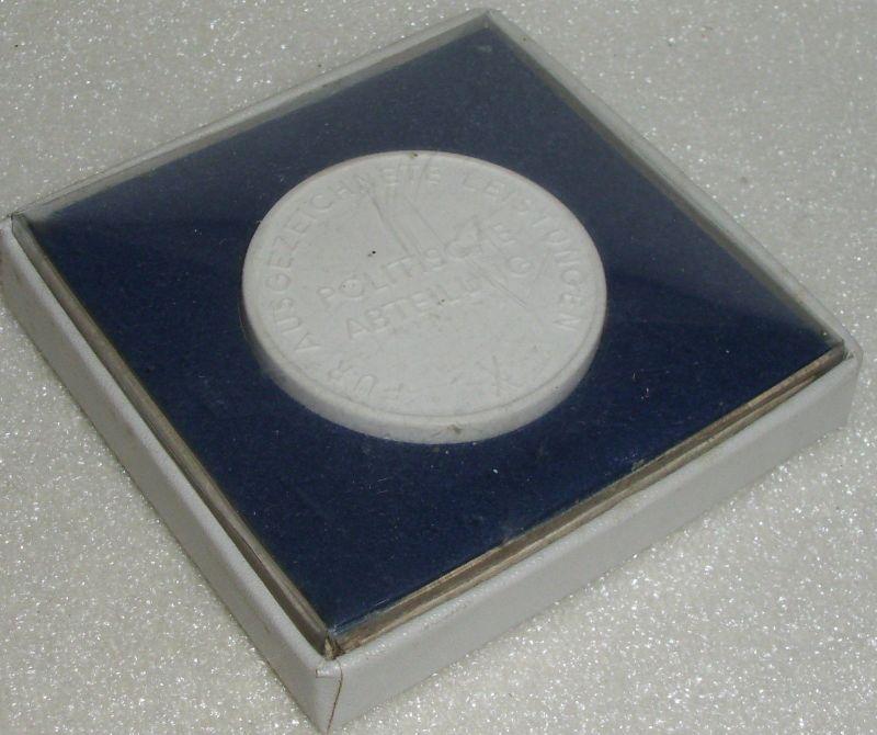 Medaille Reichsbahndirektion Cottbus Für ausgezeichnete Leistungen  (da3944) 2