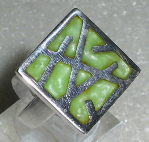 Ring Gr. 56 aus 925 Silber neuwertig aus Geschäftsauflösung