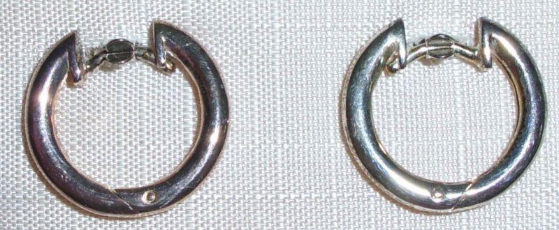 Ohrringe aus 925 Silber neuwertig aus Geschäftsauflösung