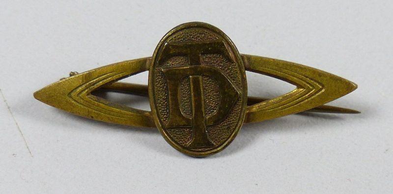 sehr alter Pin/Abzeichen DT Deutscher Turnerbund um 1900    (da5334) 0