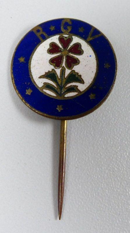 sehr alter Pin/Abzeichen Riesengebirgsverein R.G.V.    sehr selten    (da5333) 0