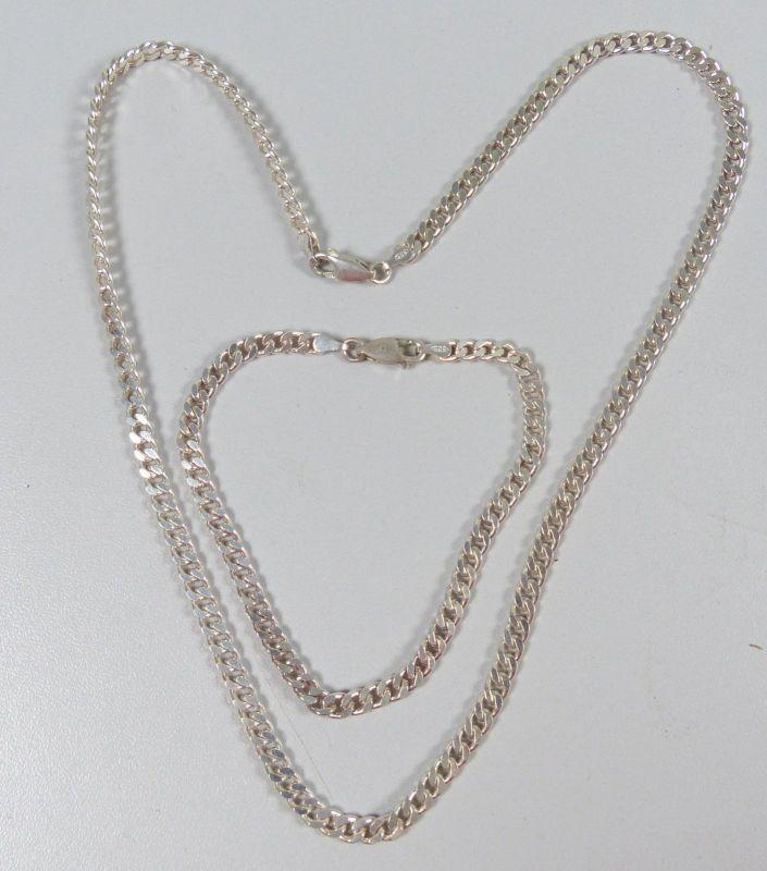 Set schöne Kette und Armband aus 925er Silber   (da5249)