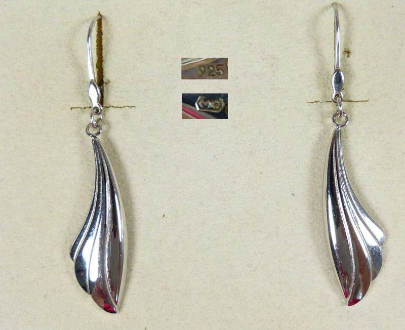 Ohrringe/Hänger aus 925 Silber, sehr schön  (da5221)