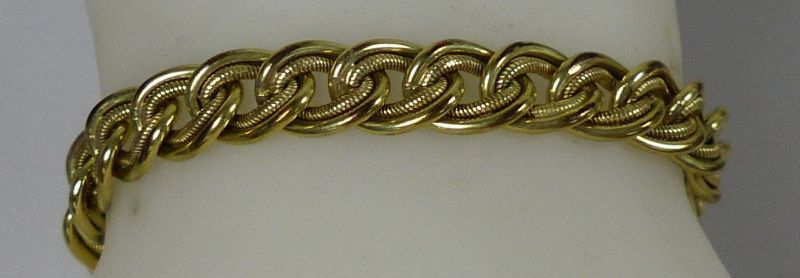 Altes Armband 50iger Jahre aus Amerkan Doublé   (da5418)