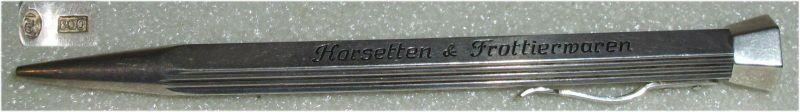 Original alter Silberstift aus 800er Silber