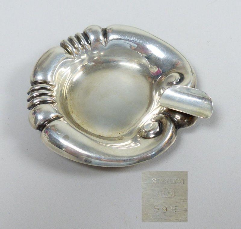 Aschenbecher aus 925 Sterling-Silber    (da5447)