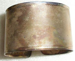 Armreif aus 835 Silber in OVP Christreich Neitzel Warnemünde   (da2024)