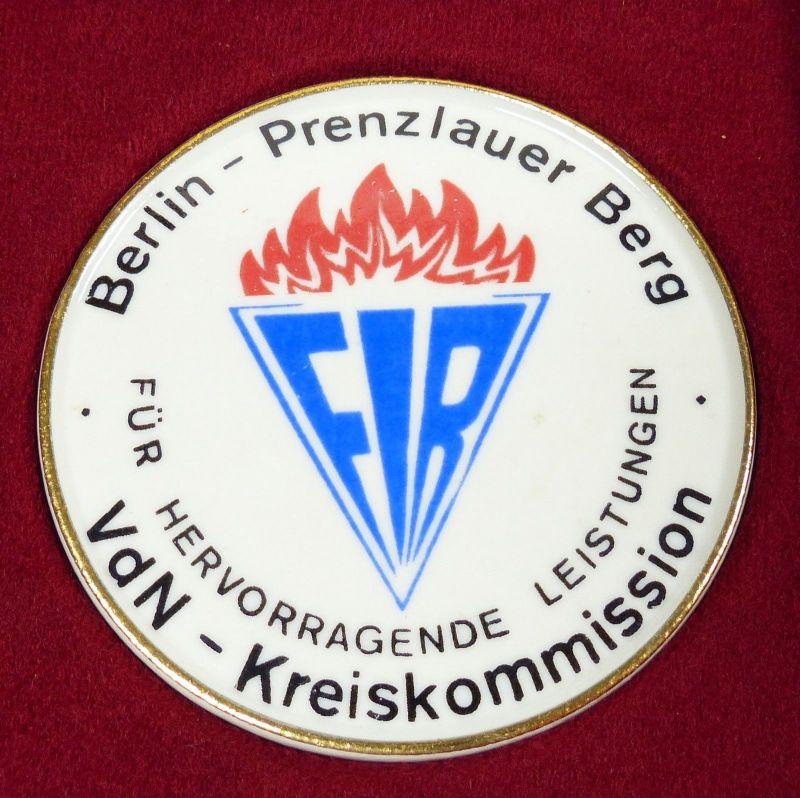Medaille Berlin Prenzlauer Berg für hervorragende Leistungen in OVP (da5453) 1