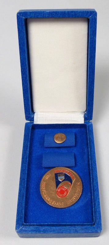 DDR Medaille Erdgastrupp für hervorragende Leistungen  (da5450)