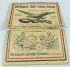 Original alte Dörbiwerk Stahl-Sohlen-Schoner/Stahlbeschläge für Stiefel (da4775)