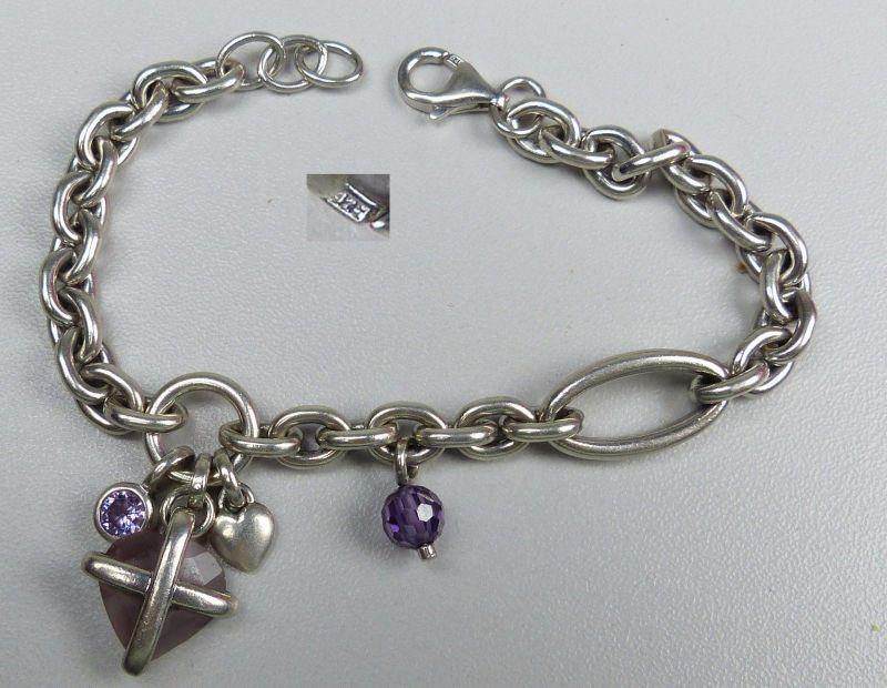 Armband aus 925er Silber Bettelarmband (da4658)