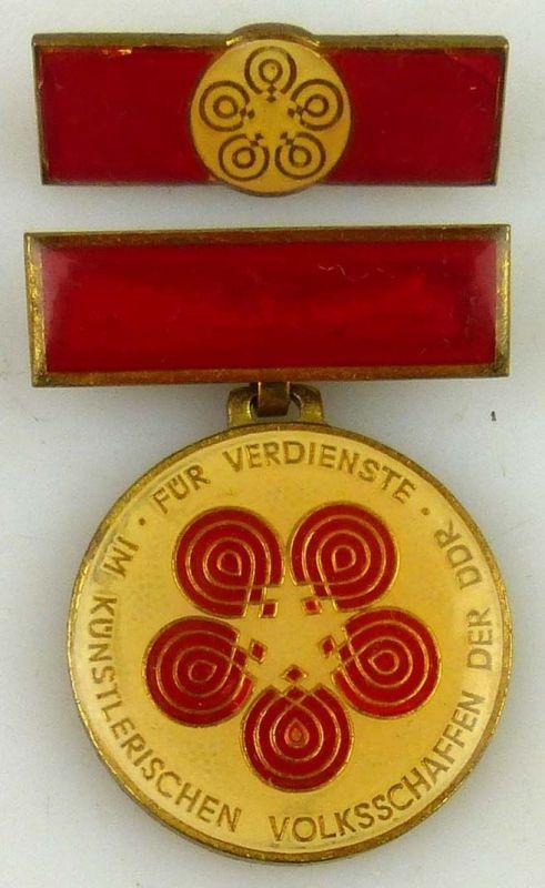 Medaille für Verdienste im künstlerischen Volksschaffen der DDR (AH257a)