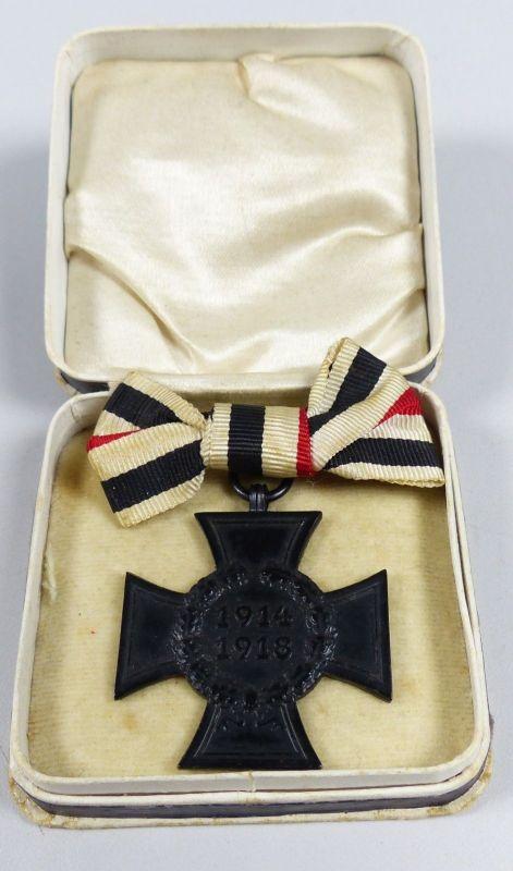 Ehrenkreuz für Hinterbliebene des 1. WK 1914 -18 an Damenschleife  (da5530)