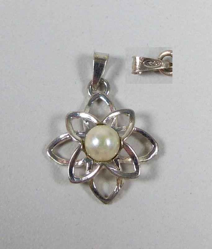 Anhänger aus 925 Silber mit Perle  (da5547)