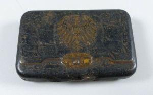 Original alte Automaten Dose Dresden mit Reichsadler Innen gestempelt  (da5639)
