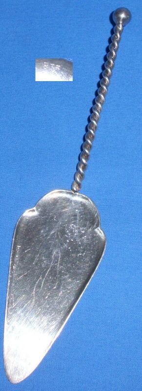 Tortenheber aus 835er Silber    (da3733)