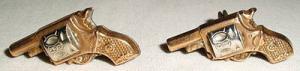 original alte Manschettenknöpfe für Westernfans