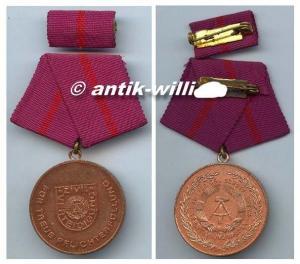 DDR Medaille Pflichterfüllung Zivilverteidigung Bronze