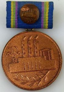 Medaille für Verdienste in der Energiewirtschaft der DDR in Bronze (AH240a2)
