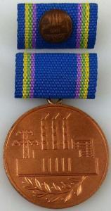 Medaille für Verdienste in der Energiewirtschaft der DDR in Bronze (AH240a)