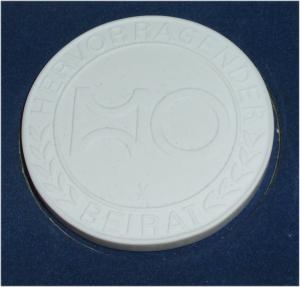 DDR Medaille Hervorragender HO in OVP (da3301)