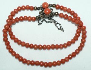 Antikes Korallen-Armband (da4290)