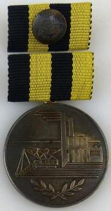 Medaille für Verdienste in der Kohleindustrie der DDR in Silber (AH242a)