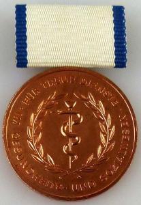 Medaille für treue Dienste im Gesundheits- und Sozialwesen in Bronze (AH252c)