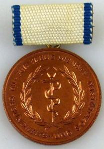 Medaille für treue Dienste im Gesundheits- und Sozialwesen in Bronze (AH252a)