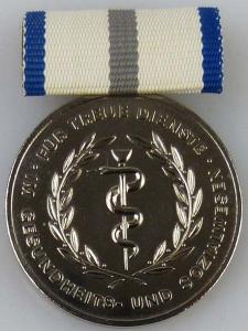 Medaille für treue Dienste im Gesundheits- und Sozialwesen in Silber (AH251c)